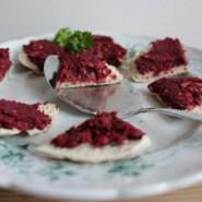 Rødbede hummus