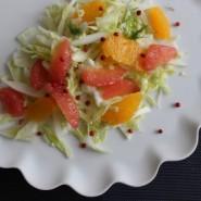 Fennikel salat med friske citrusfrugter