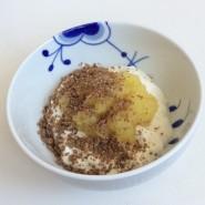 Æble-ingefærmos til din morgen yoghurt